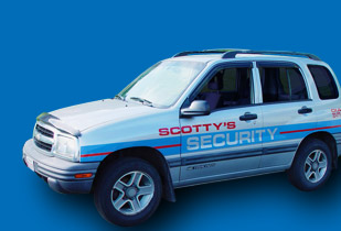 Scotty's Security Fleet Car